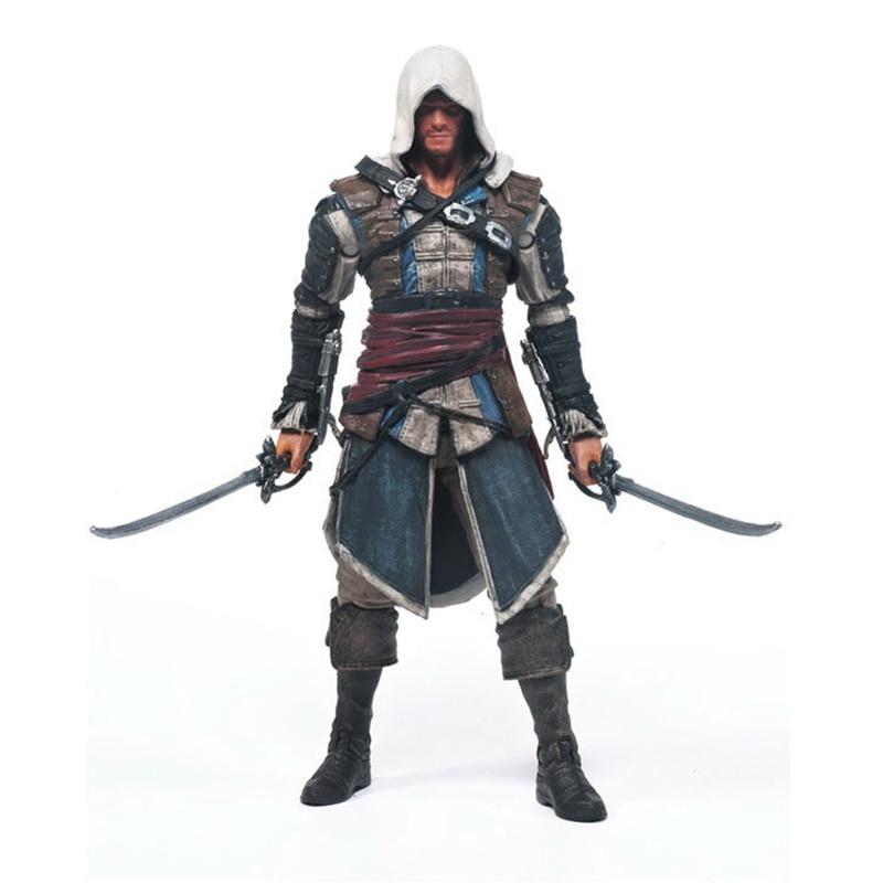 Games Figurine Assassins Creed 4:Black Flag 15cm PVC Model Assassin Creed Hidden Blade Action Figure Toys