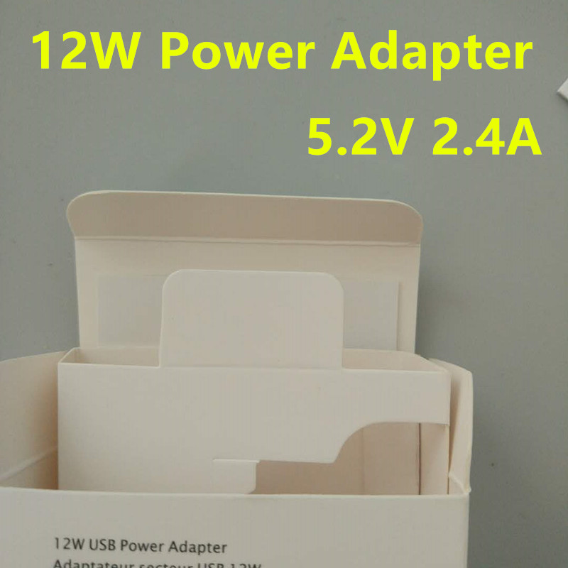 10pcs/lot Original OEM EU/US/UK plug 5.2v 2.4A 12W USB Power Adapter AC home Wall Charger Retail box with original logo-in Mobile Phone Chargers from Cellphones & Telecommunications    1