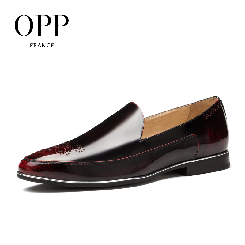 OPP Men's Oxfords Fashion Style Casual Low Shoes,Breathable Dress Shoes for Summer Party Dress shoes Office shoes opp 2017 men s patent leather dress shoes new fashion style classic low dress shoes natural leather shoes for mens derby shoes