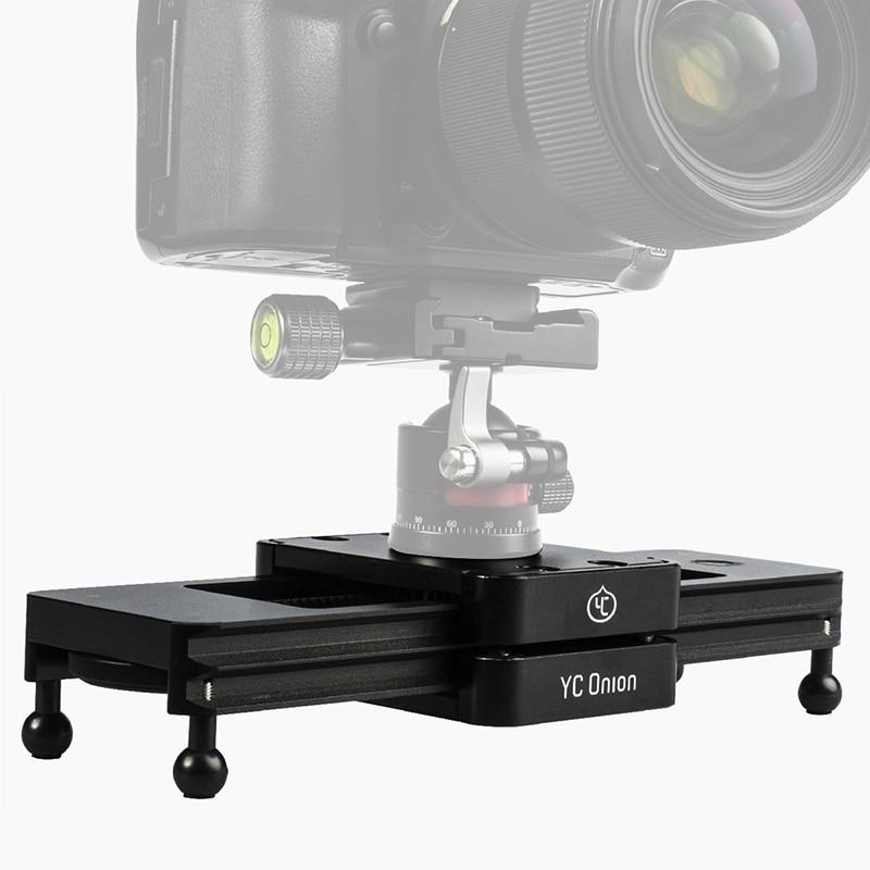 Ulanzi Professional Portable Double Distance Camera Video Slider Mini Compact Aluminum Travel Pocket Carry Slider For DSLR Camer