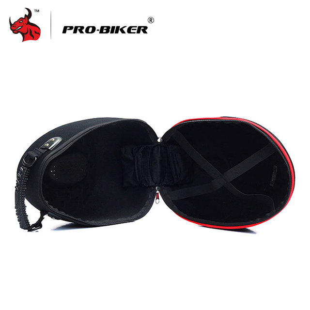 PRO-BIKER Motorcycle Bag Moto Helmet Bag  Motorbike Travel Multifunction Tool Tail Bag Handbag Luggage Carrier Case 3