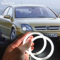 HochiTech Ccfl Angel Eyes Kit White 6000k Ccfl Halo Rings Headlight For Opel Vectra C 2002