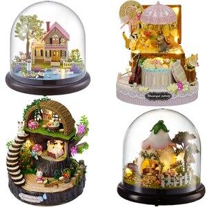 Cute Room DIY Doll House Minia