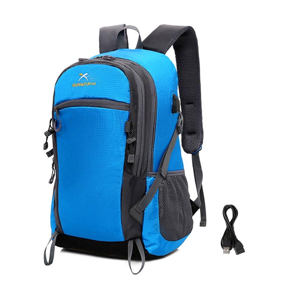 Ryggsäck Lättväska Ryggsäck Multi-Purpose Ryggsäck Trendy - Väskor för bagage och resor - Foto 3
