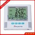 A2000-TH Digital LCD Thermometer Hygrometer mit Elektronische Temperatur Feuchtigkeit Meter Indoor Outdoor Tester Sound Light Alarm