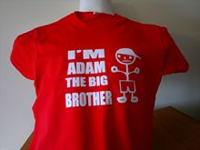 IM THE BIG BROTHER (WITH YOUR NAME) FANTASTIC FUNNY T SHIRT ALL SIZES AND COLOU New Shirts Funny Tops Tee Unisex