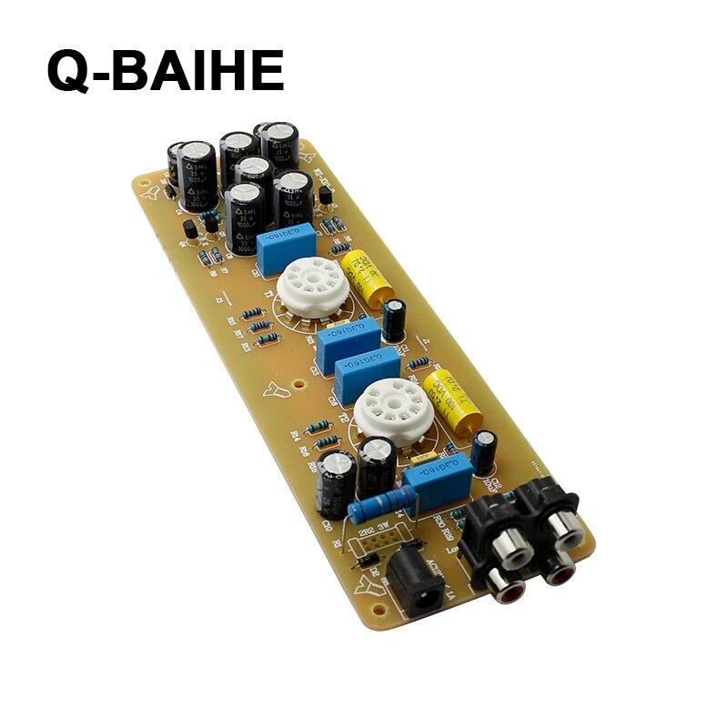 Carte de pré-amplificateur de Tubes de tampon de WZ-X10Db X-10D carte de circuit imprimé plaquée or de fidélité musicale et carte finie sans Tubes 6N11
