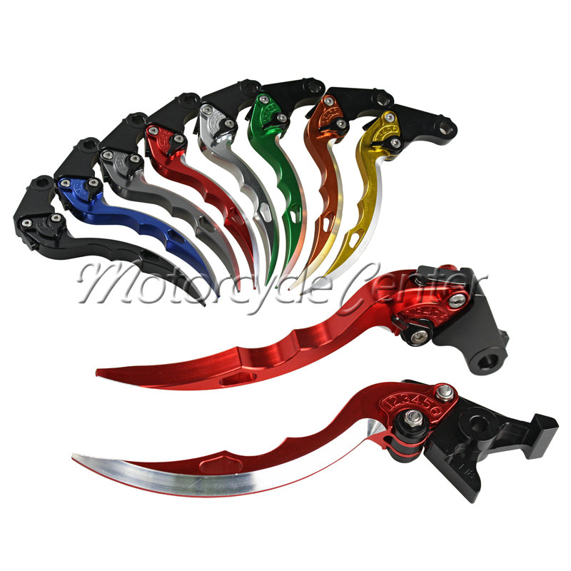 Motorcycle Racing CNC Blade Brake Clutch Levers For Ducati Monster 696 796 400 695 S2R 800 620 MTS ST4S mtkracing motorcycle cnc adjustable folding extendable brake clutch levers for ducati monster 696 695 796 400 620 s2r st4s
