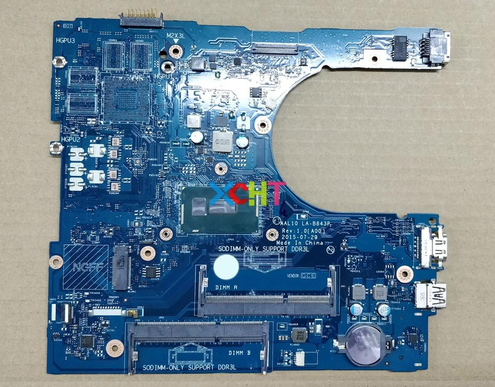for Dell Inspiron 5458 5558 5758 N9T5P 0N9T5P CN 0N9T5P AAL10 LA B843P w 3215U CPU Laptop Motherboard Mainboard Tested-in Laptop Motherboard from Computer & Office