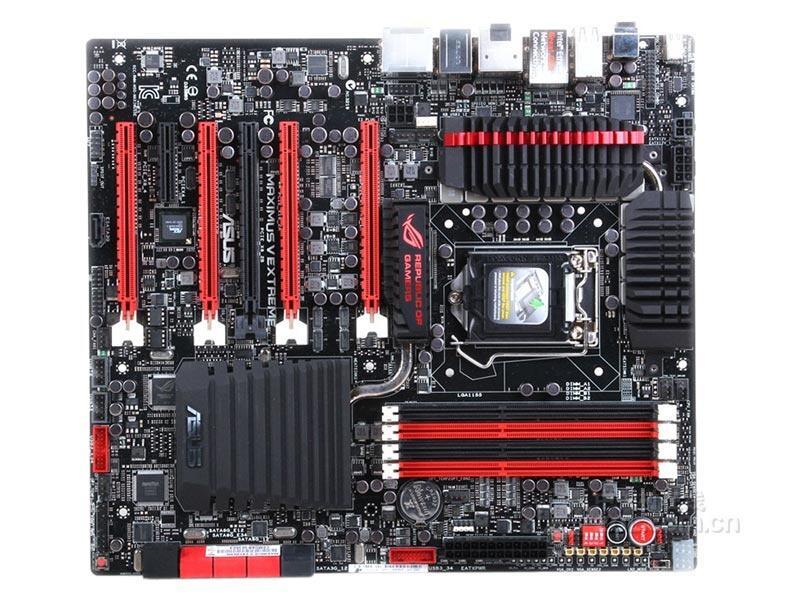 Asus ROG Maximus V Extreme Desktop Motherboard M5E Z77 E3 DDR3 32G ATXmotherboard Soquete LGA 1155 i5 i7 usado 90% novo