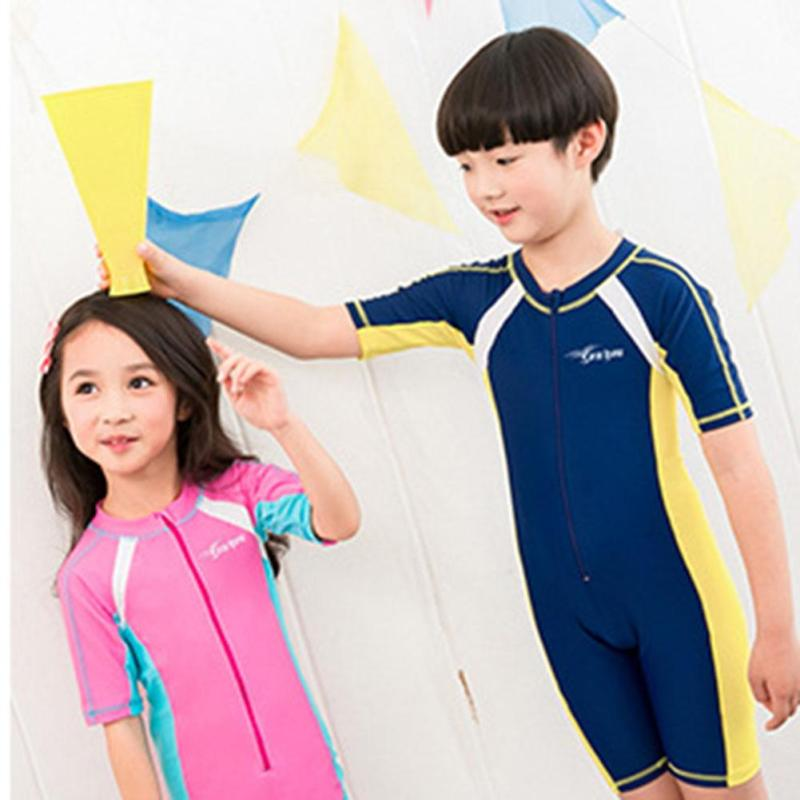 Boys Girls Swimsuits Kids Bathing Suits Girl Children Beach Wear Diving Swimming Suit boys One Piece Swimwear for Girls