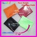 Ls1bp 180 x 150 mm индивидуальные упаковка очки ткань для очищения бархат двойной - сторона Flanne очки ткань