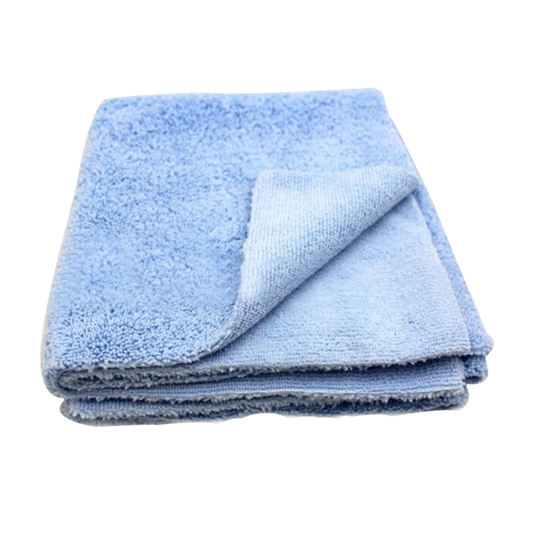BU-Bauty 380GSM Edgeless Microfiber Cloth 16X16 No Edge Premium Detailing Towel For Polishing Buffing Finishes Car Wash