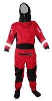 Новый сухой костюм с капюшоном латексная Шея/прокладка запястья водонепроницаемые носки для белой воды, каяк, парусный спорт, рыбалка