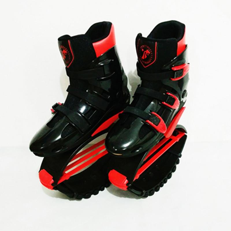 Rebound Bounce Schuhe 44lbs-243lbs Kunden Zuerst Ausdauernd Unisex Fitness Känguru Springen Schuhe Size16/17/18/19/20 Empfehlen Gewicht 20 ~ 110 Kg
