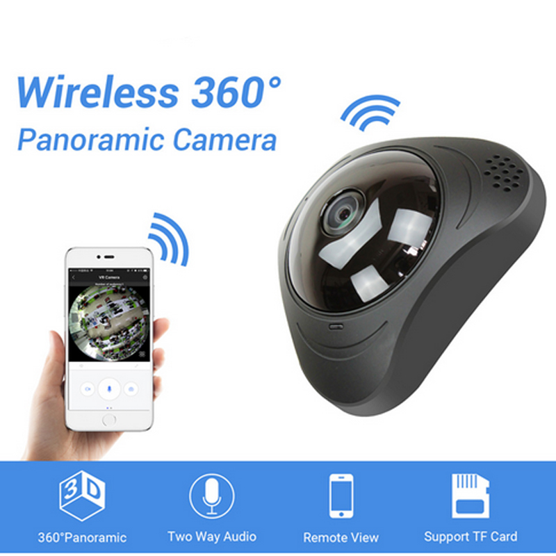 360 VR Caméra 960 P IP Wifi Caméras 1.3MP Réseau Sécurité Camara Sans Fil Fisheye Vidéo Surveillance Caméras