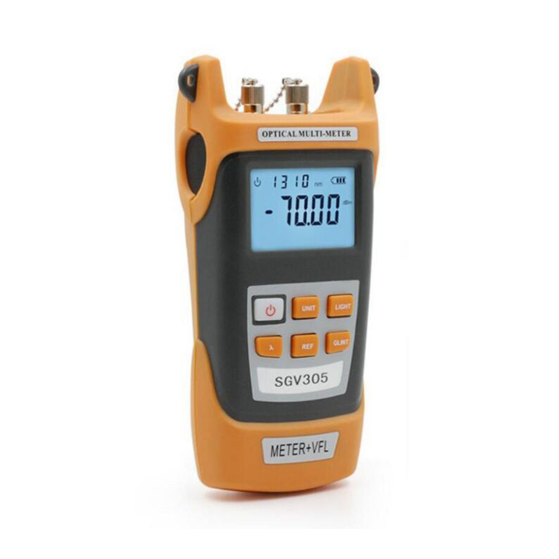 imágenes para Portátil de alta precisión del Medidor de Potencia Óptica-70 ~ + $ number dbm y 5 MW VFLVisual Localizador Láser Óptico Fuente de luz Envío gratis