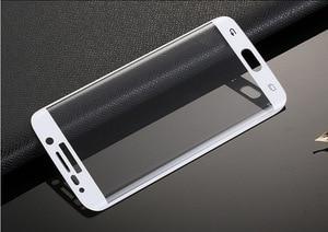 Image 4 - RONICAN S6 edge полное изогнутое 3D закаленное стекло Защита для экрана Защитная пленка Pelicula de vidro для Samsung Galaxy S6 Edge plus