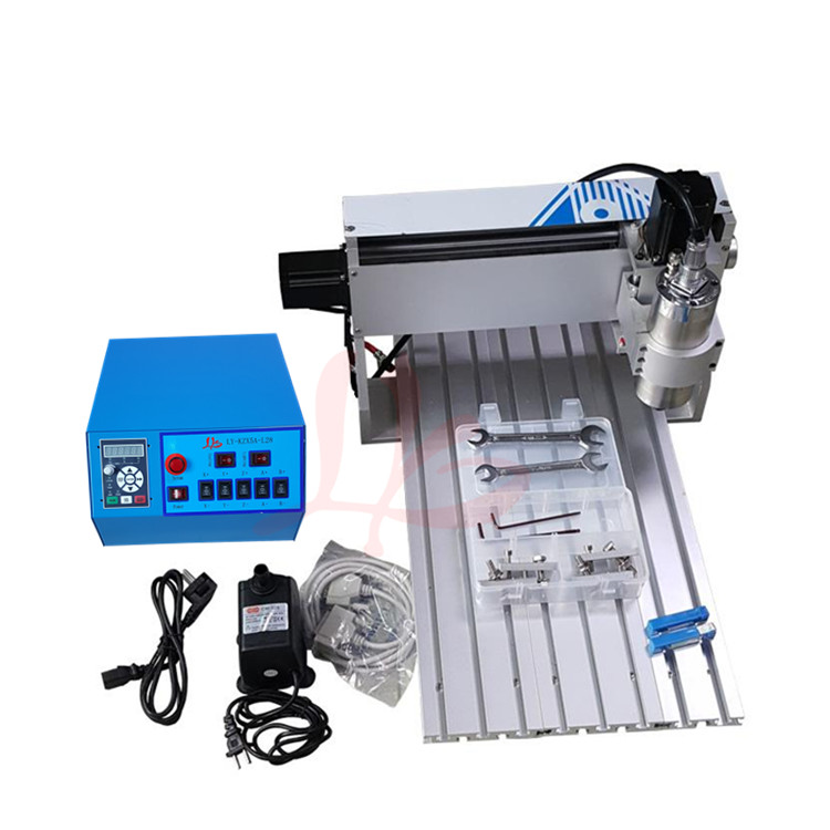 Free tax to EU country! 3 axis cnc router 3020 800w water cooling spindle milling machine for industrial use cnc 3040z s 3 axis mini cnc router with 800w vfd water cooled spindle engraving lathe machine free tax to eu