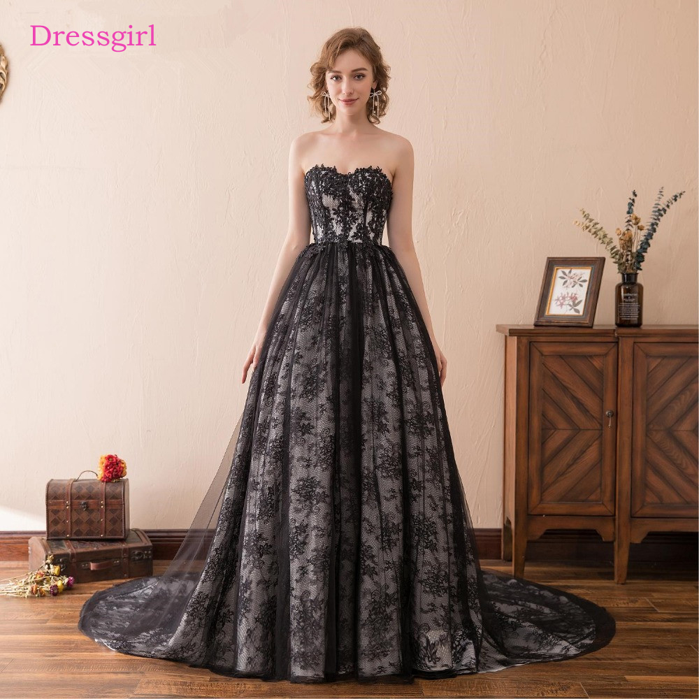 Black Wedding Dresses: Black Vestido De Noiva 2018 Wedding Dresses Ball Gown Cap