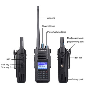 Image 3 - RETEVIS Ailunce HD1 DMR راديو المذياع اللاسلكي الرقمي هام راديو الهاوي لتحديد المواقع DMR VHF UHF ثنائي النطاق DMR اتجاهين راديو الاتصالات