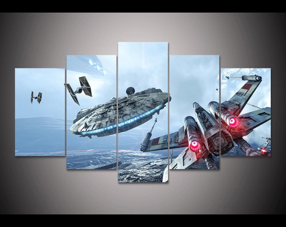 Popular Star Wars Canvas Wall Art-Buy Cheap Star Wars ...