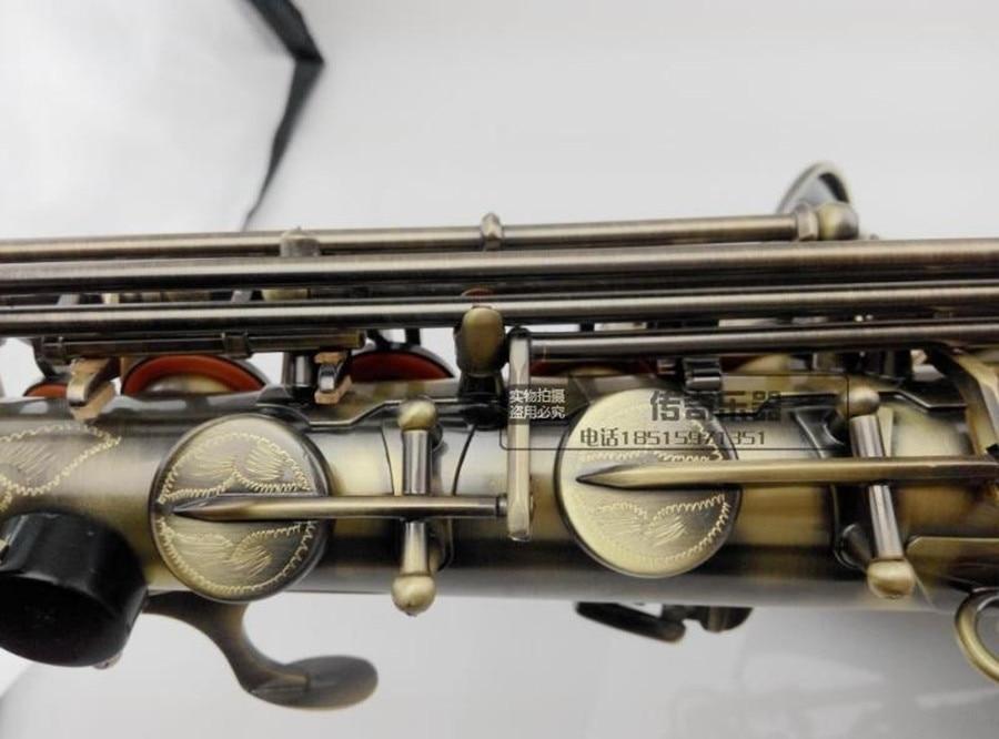 Alto Saxophone instrument alto saxophone / wind E flat bronze antique Sax special offer promotions