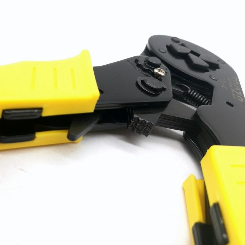 Купить с кэшбэком HSC 16-4 SELF-ADJUSTABLE CRIMPING PLIER 4-16mm2 terminals crimping tools multi tool  AWG12-5