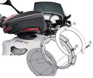 CBF 600N 2010 BF03 Givi Flange Specification for Bags Tanklock Honda CBF 600S