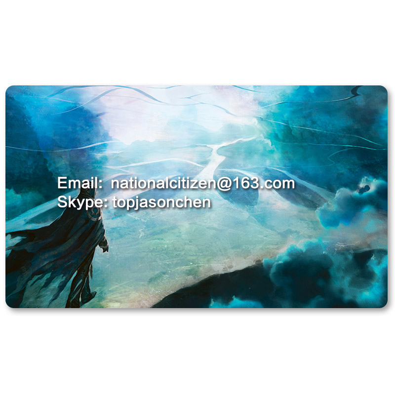 Many Playmat Choices -Jace Beleren Planeswalking- MTG Board Game Mat Table Mat for Magical Mouse Mat the Gathering image