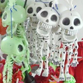 1pcs 19cm long Dancing Skeleton toy. Party Joke Prank Novelty Trick Funny Skull skull decanter Toys for kids and adult GYH
