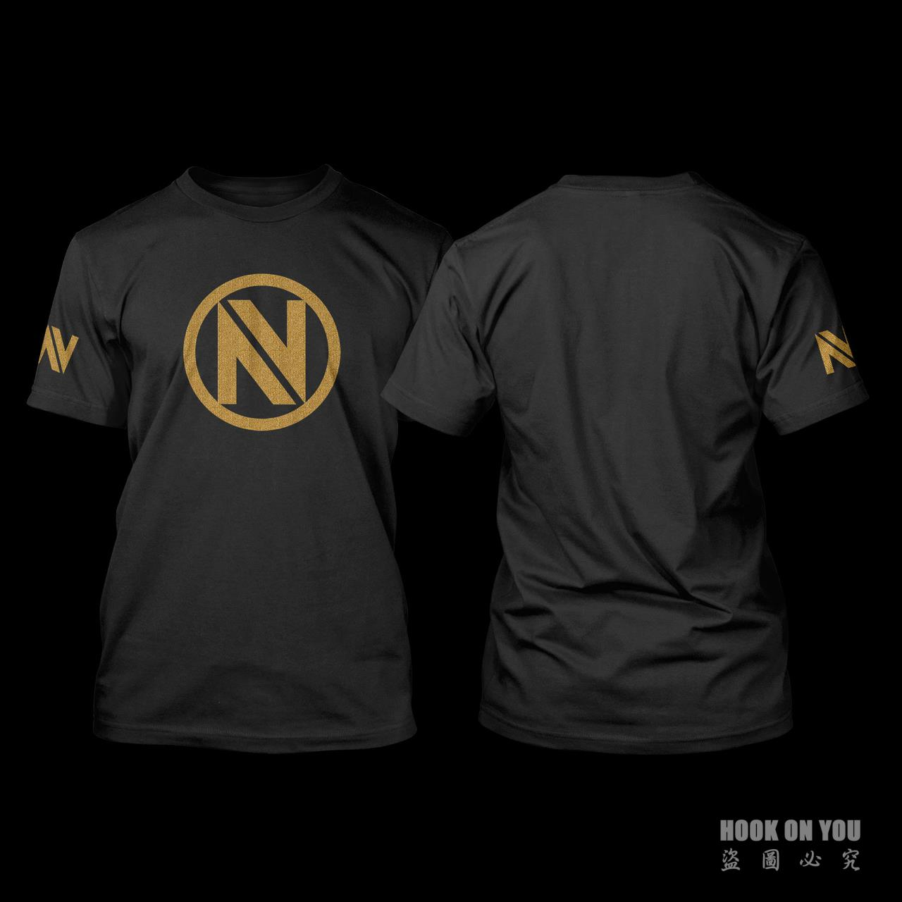 Design t shirt games online - Exclusive Design Cs Go Csgo Game Team Envyus Short Sleeve T Shirt Casual Fashion Gaming T Shirt Camiseta Top Tees Cotton
