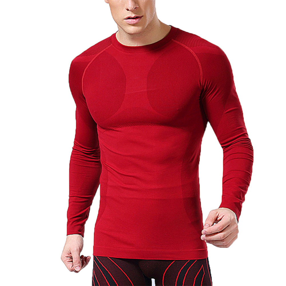 Aliexpress.com : Buy Brand Clothing Men Compression Long Sleeve ...