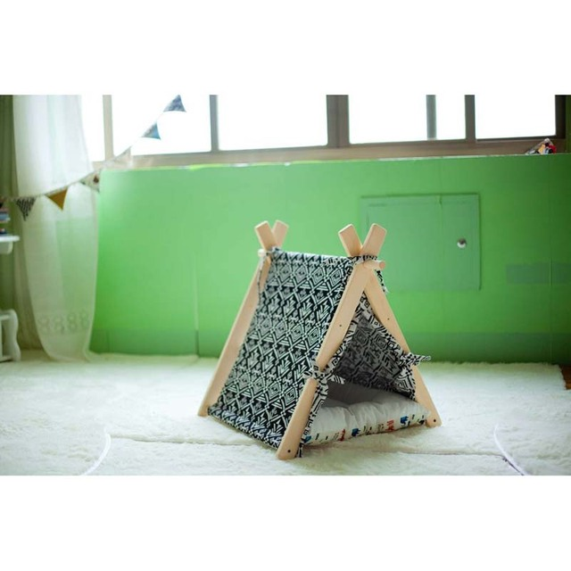 Small Pop Up C&ing Tent 1 Puppy Pet Cat play Bed Indian pet play tent with  sc 1 st  AliExpress.com & Small Pop Up Camping Tent 1 Puppy Pet Cat play Bed Indian pet play ...