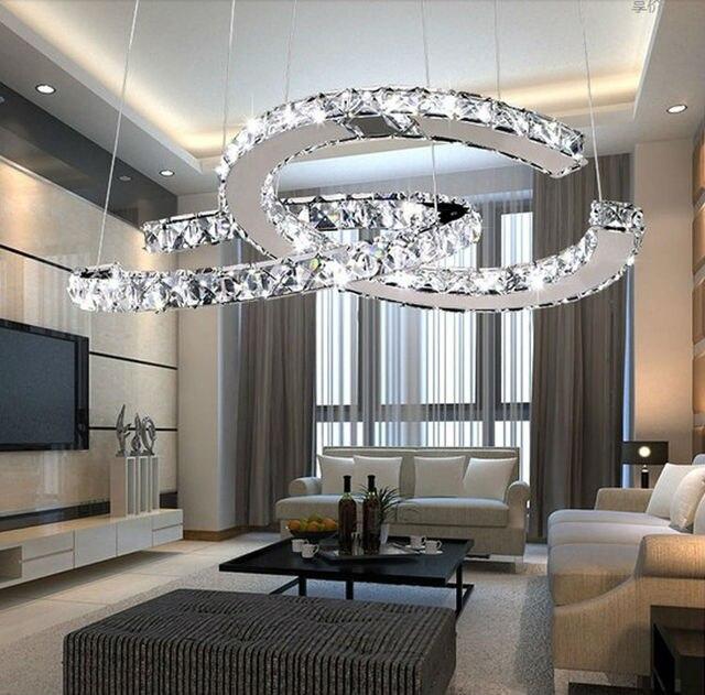 Lamparas de colgar modernas elegant lmpara techo cromo - Lamparas de colgar ...