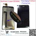 Оригинальное качество! ЖК-Дисплей Дигитайзер + Сенсорный Экран Замена для Asus Zenfone 2 Laser ZE500KL 100% Испытаны Перед Кораблем