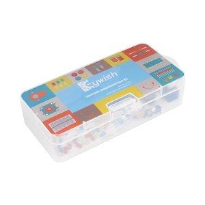 Image 5 - Keywish Diy Electronics Basic Starter Kit Breadboard, cables de puente, resistencias, zumbador para Arduino UNO R3 Mega256