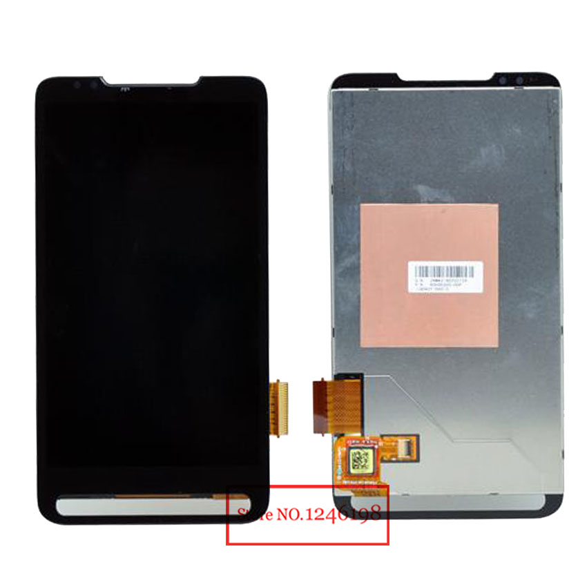 High Quality Full LCD Display Touch Screen Digitizer Assembly For HTC HD2 T8585 Replacement Parts Free Shipping high quality full lcd display touch