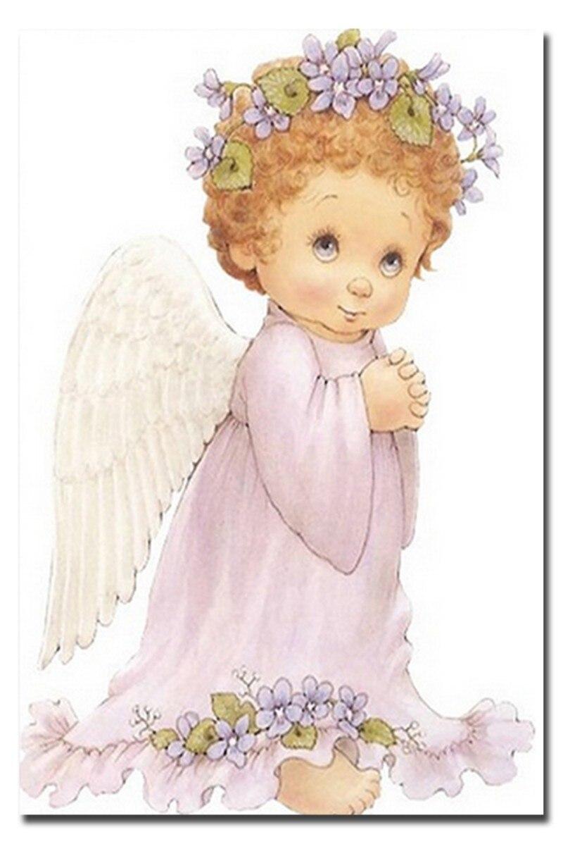 Картинки ангелочков с крыльями красивые детские