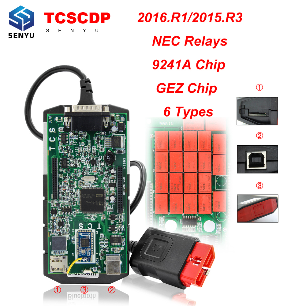 Tcs Cdp 2016r1 2015r3 Nec Relays 9241a Chip Bluetooth V30 Pcb Types Of R3 20161 20153 With Keygen Tcscdp And Multidiag Pro Wow 5008 In Code Readers Scan Tools From Automobiles