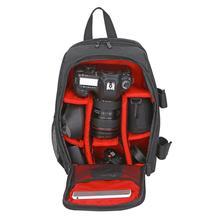 ALLOET Водонепроницаемый цифровой DLSR Камера мешок фотографии рюкзак против царапин малых SLR Видео Сумки для ноутбуков для Canon sony nikon