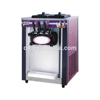 Free shipping 18 20L/H Desktop Ice cream machine, 1800w electric rainbow soft ice cream maker
