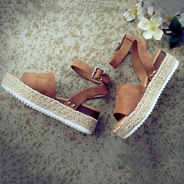 Women's Wedges High Heels Sandals