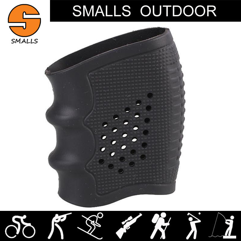 Airsoft AR 15 Accessories Tactical Rubber Grip holder G17 Sleeve Grip Glove Cover Gun Magazine Pouch For Hunting image