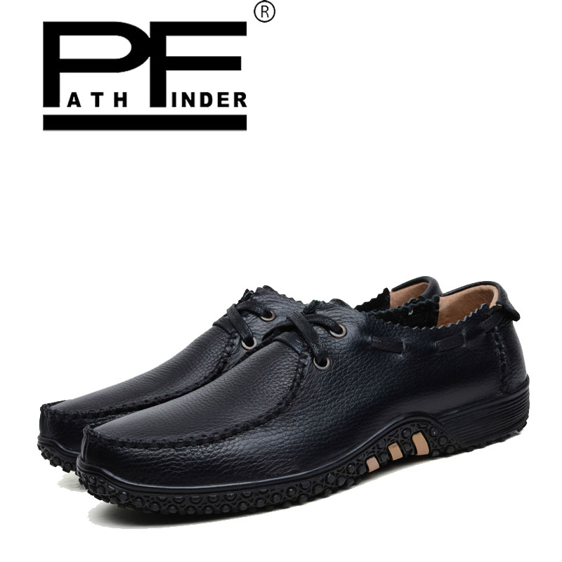 Pathfinder men casual leather shoes 2017 spring autumn lace up  zapatillas hombre trainers breathable Mens Flat big size 37-47 2016 new spring autumn breathable casual shoes for men british style fashion men flat shoes blade mens trainers zapatos hombre