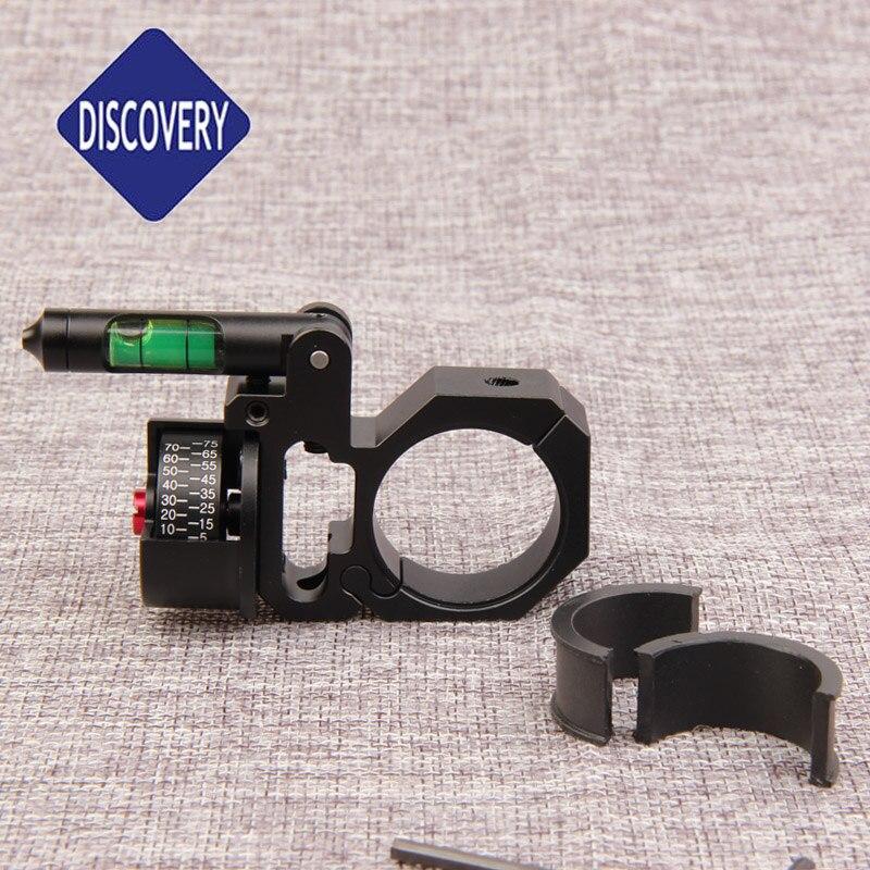 Indicateur d'angle de découverte niveau à bulle ajustement 25.4mm et 30mm anneaux de montage de portée pour portée de fusil optique vue accessoires de chasse