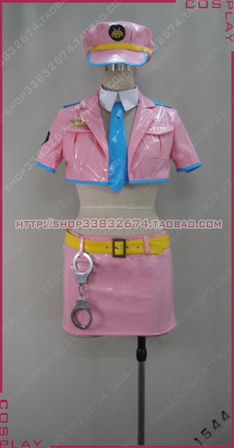 Super Sonico Space officer Sonico Halloween Party Dress Set Cosplay Costume S002