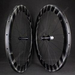 2019 ultralekki X koła 60mm Clincher/koła rurowe rower szosowy z filarem Aero płaski Super lekki zestaw kołowy w Koła roweru od Sport i rozrywka na