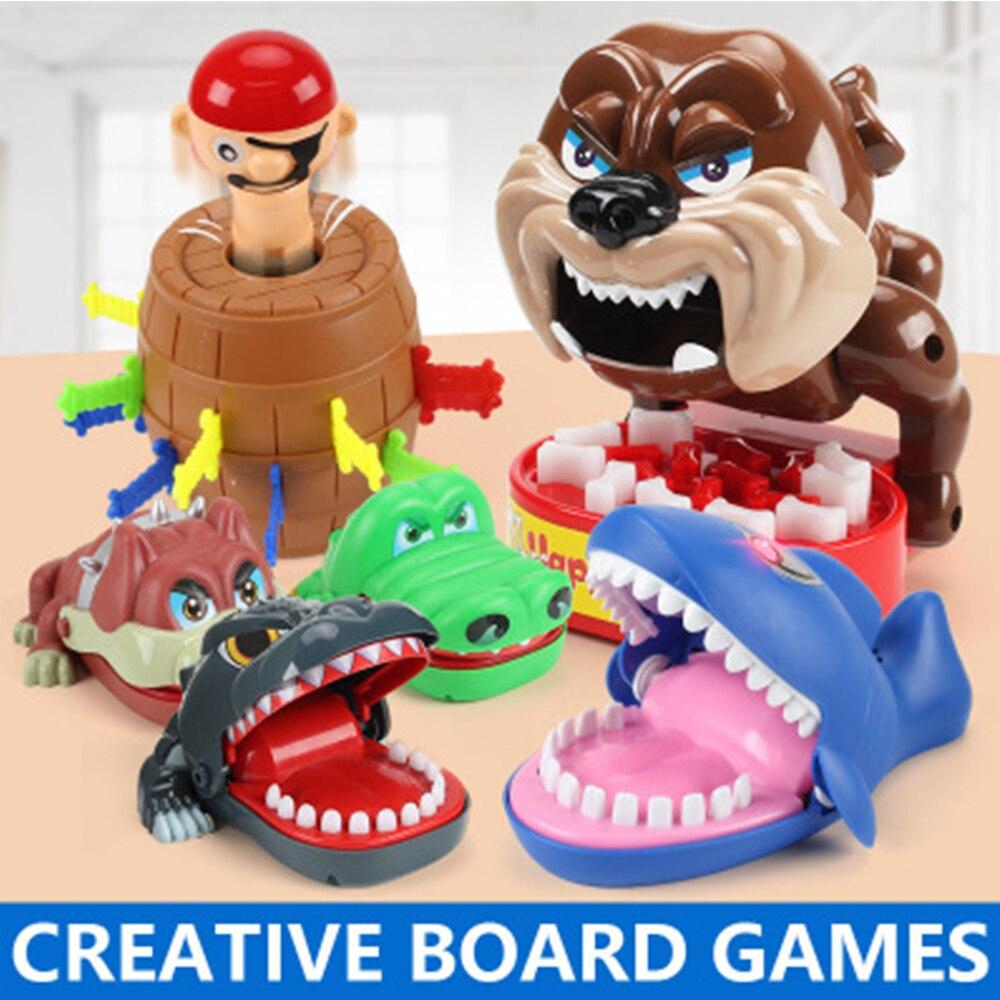 Творческий Шесть стилей для детей Детские игрушки пират ведро Новое поступление на Новый год подарки для Lucky Семья для игр Игрушки интеллек...