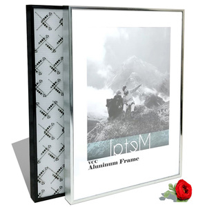 Picture Frame For Wall Poster Frame Metal 40X50 50X60 40X60 Wall Art Decorative Metal DIY Photo Frame,No plank,No glass